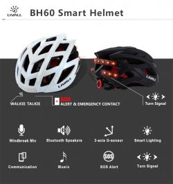 De nieuwe Bluetooth SMART helm